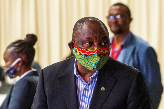 From pandemic to politics, tough road ahead for South African president