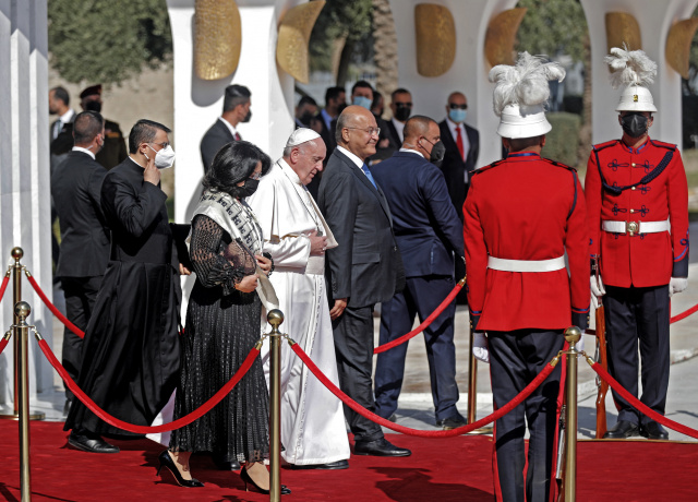 Pope Francis departs Iraq after historic trip: AFP