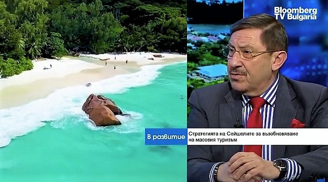 Maxim Behar for Bloomberg TV: The Seychelles Government with a quantum leap in world tourism