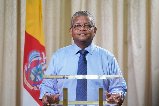 President of Seychelles reassures nation COVID-19 situation is under control despite cluster outbreaks