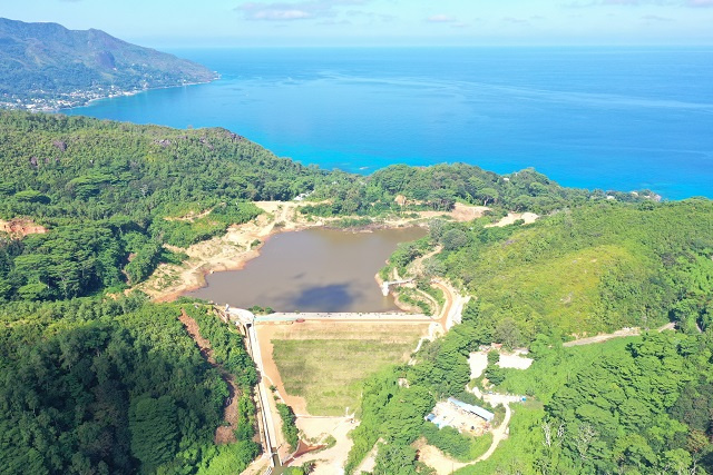 Extension of Seychelles' La Gogue dam expected to be completed by end of year, official says