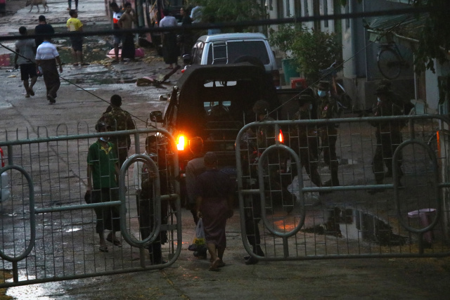 Myanmar UK ambassador says military attache has 'occupied' embassy