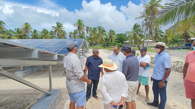 Islands Development Company lights up two more of Seychelles' outer islands with solar power