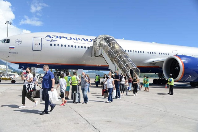 Russian airline Aeroflot increasing flight frequency to Seychelles
