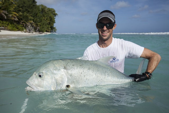 Nursery areas of Seychelles giant trevally must be protected for species to survive, study finds