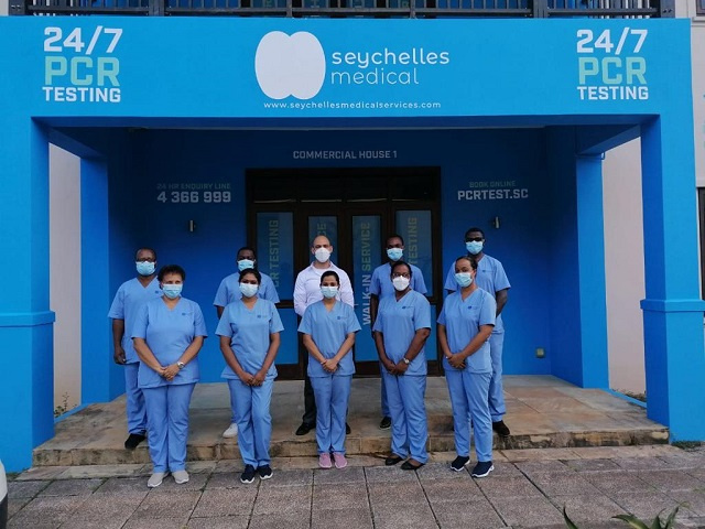 New laboratory in Seychelles offers COVID tests 24 hours a day