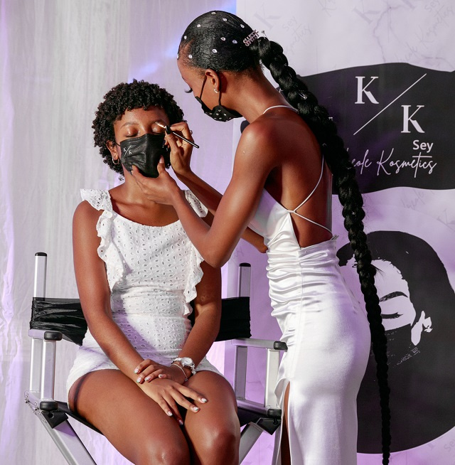 In mask-wearing era, Seychellois make-up artist says 'eyebrows are the new smile'