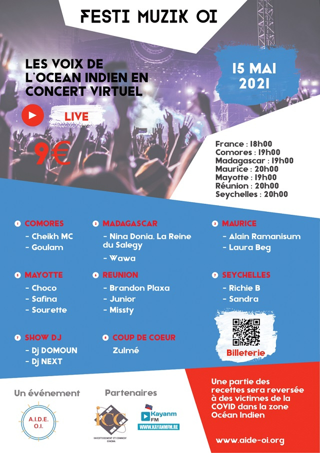 2 Seychellois singers to join other Indian Ocean musicians in virtual festival on Saturday