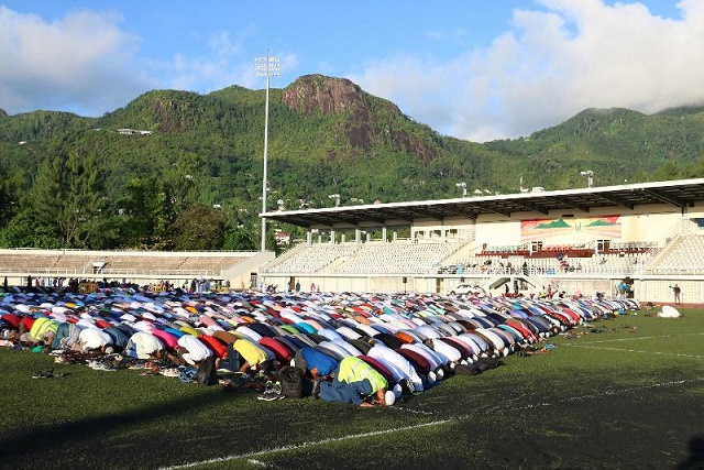 Muslims in Seychelles celebrate Eid-ul-Fitr at home, foregoing traditional congregational gathering
