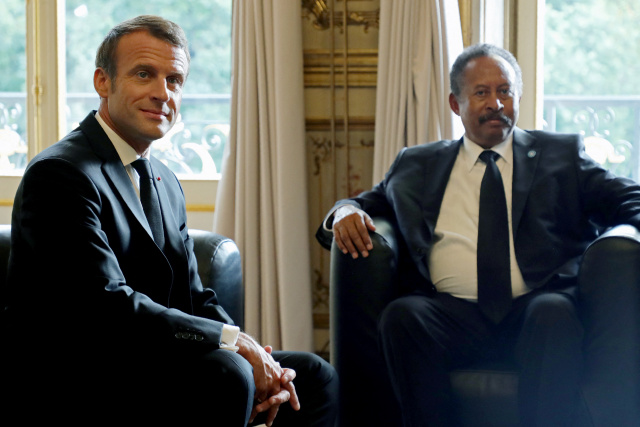 Macron hosts summit to boost Sudan post-Bashir