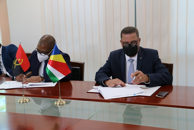 Seychelles, Angola sign agreements to launch partnerships, closer relations
