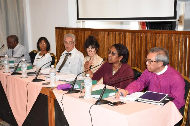Seychelles' Truth, Reconciliation and National Unity Commission to hear all evidence this year, then focus on report