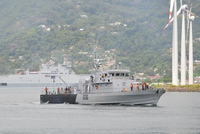 Un bateau sri-lankais intercepté par les gardes côte des Seychelles pour pêche illégale