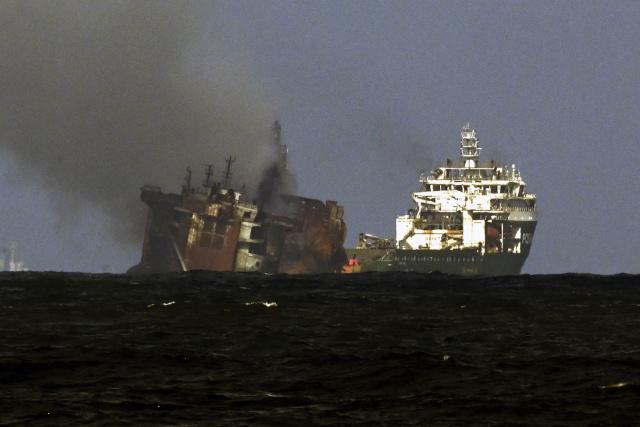 Sri Lanka seeks $40 million in damages over ship fire