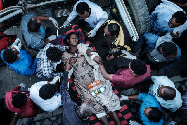 Calls for inquiry as dozens killed, injured, in Ethiopia market airstrike