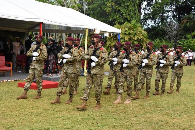 Les Seychelles célèbrent 45 ans d'indépendance lors d'une petite cérémonie à State House