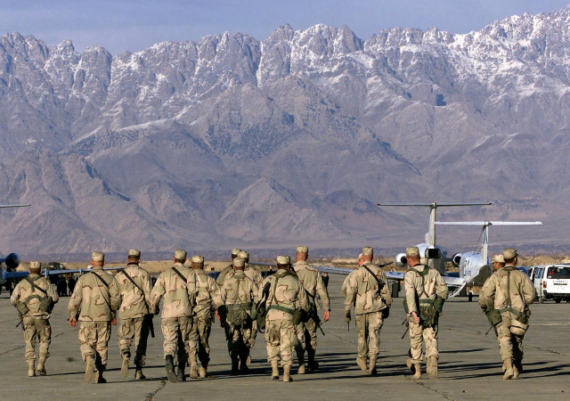 Complete Afghan withdrawal imminent as last US troops leave Bagram