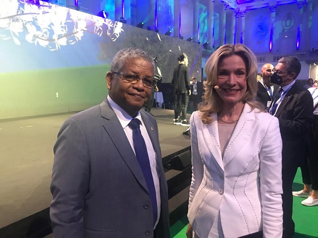 Seychelles' President tells summit: Justice needed for small countries bearing brunt of climate change