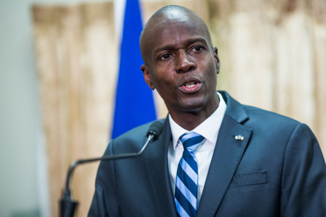 Haiti police blame Colombian, US suspects in president's slaying