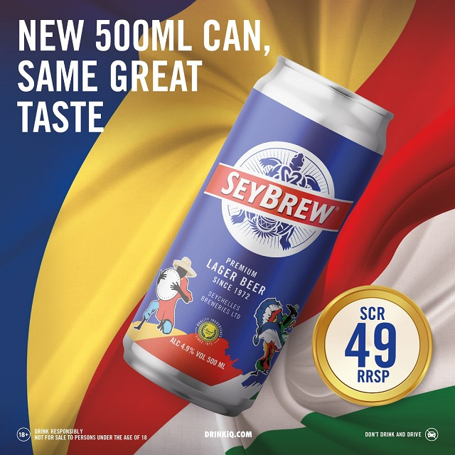 SeyBrew launches bigger 500ml can following rise in demand
