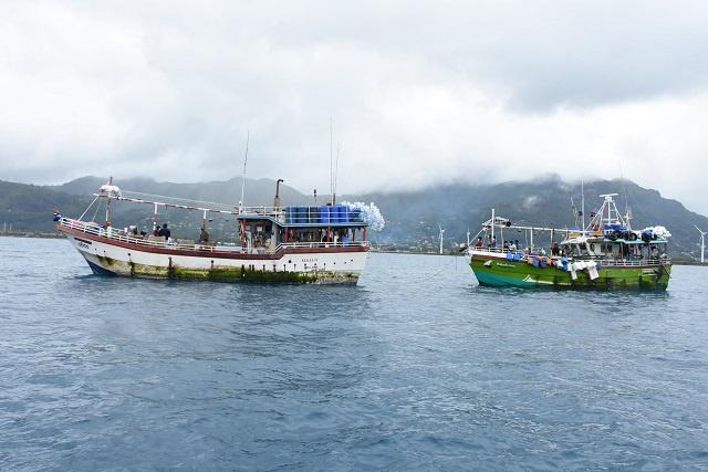 6 navires sri lankais interceptés dans les eaux seychelloises pour pêche illégale au cours des 12 derniers mois