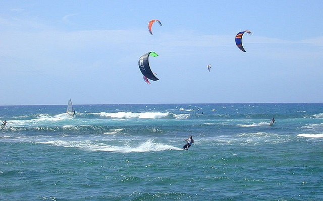 Yachting Association launches kitesurfing competition in Seychelles