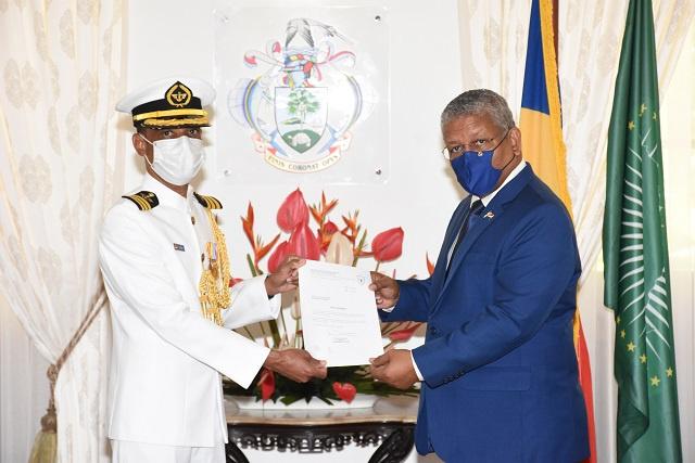 Attala assumes full command of Seychelles Coast Guard