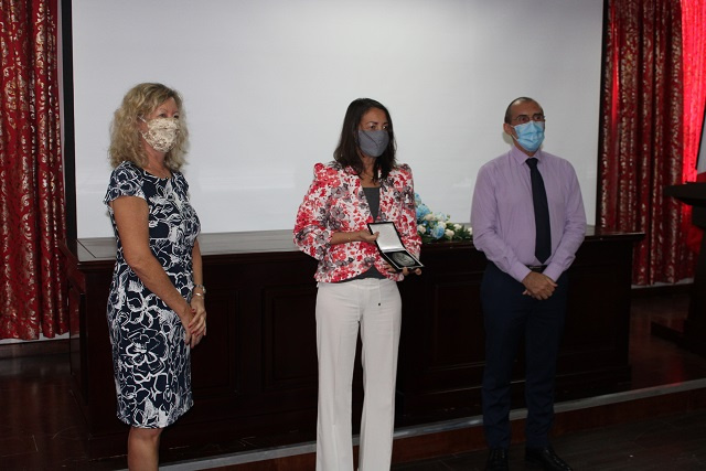 Seychelles' former Chief Justice recognised for 'courage, strength' to fight sexual abuse