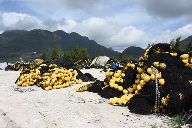 Seychelles looks to re-use, recycle fishing nets, saving landfill space
