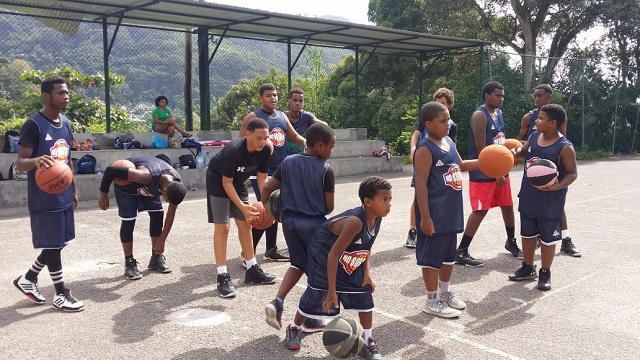 Bel Air Basketball Academy to train younger Seychellois in the fundamentals