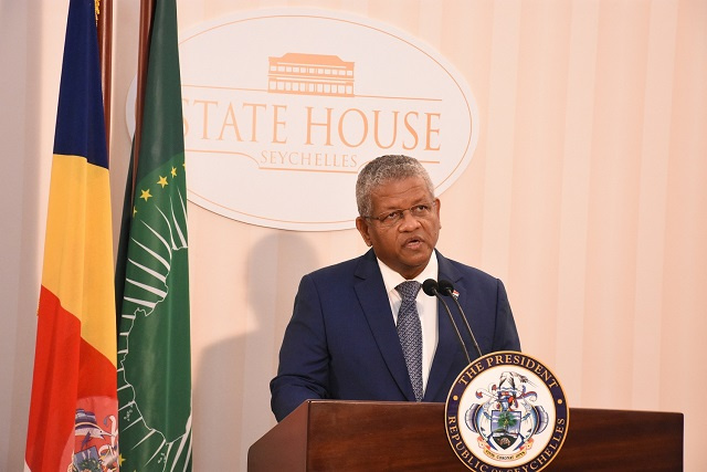 President of Seychelles urges African leaders to use ocean to curb hunger, poverty