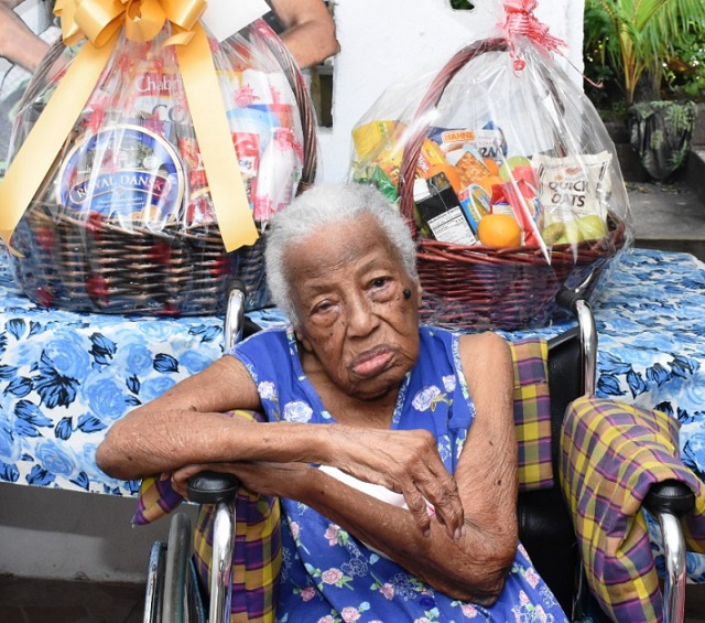 Seychelles' oldest citizen, Margaret Woodfield Pouponneau, turns 109
