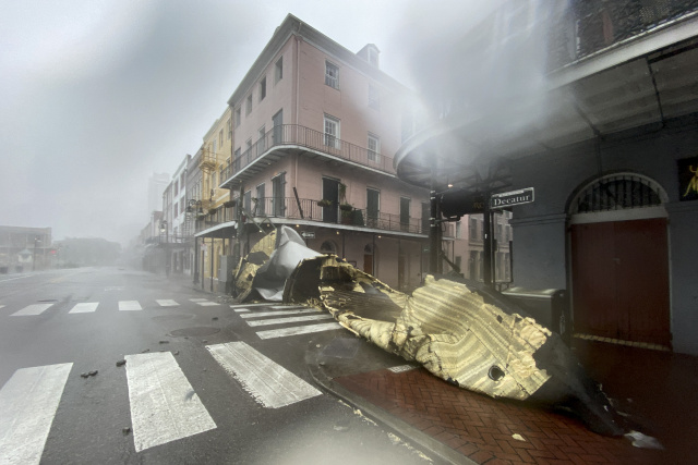 Hurricane Ida pummels Louisiana, knocks out power for New Orleans