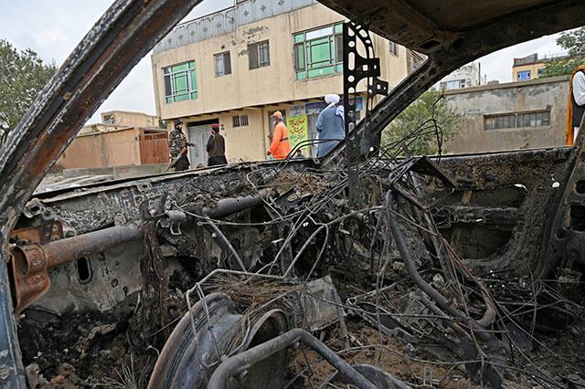 Afghanistan: des roquettes au-dessus de Kaboul à la veille du départ des troupes américaines