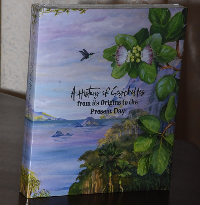 New book on Seychelles' 250 years publishes historical gems for first time