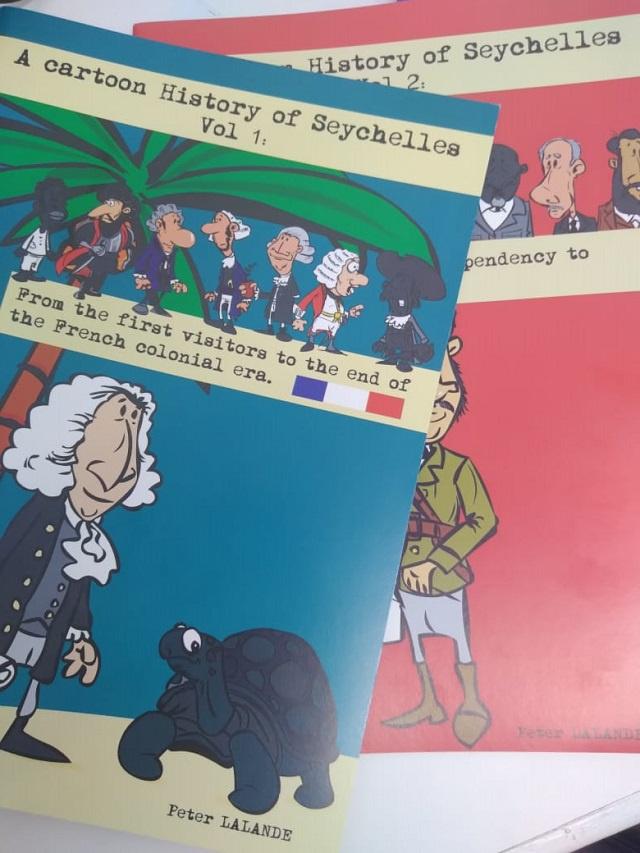 Seychellois cartoonist uses visual storytelling to recount island nation's history
