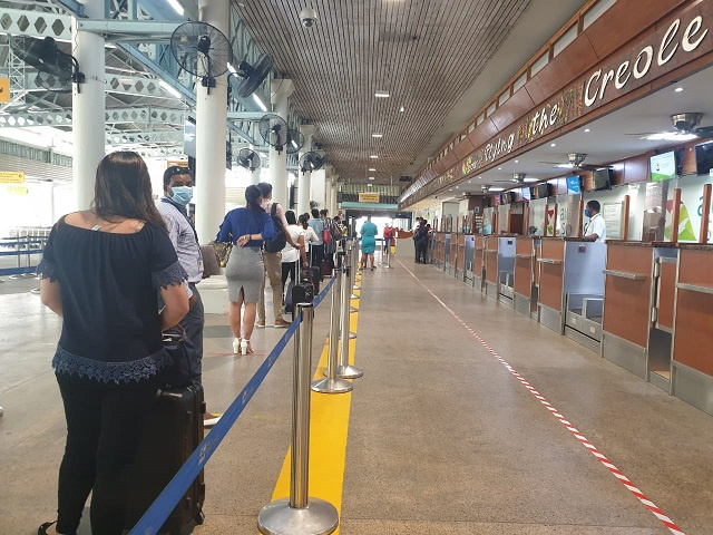 Seychellois cutting back on foreign travel amid pandemic