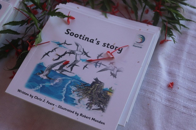 Sootina's Story: A children's book makes Seychelles' sooty tern a fun read