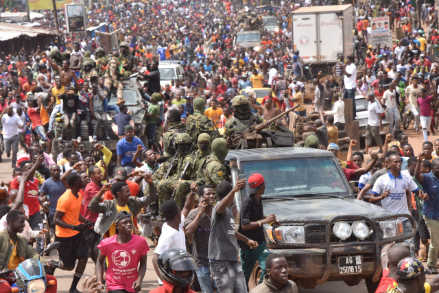 Army seizes power in Guinea, holds president
