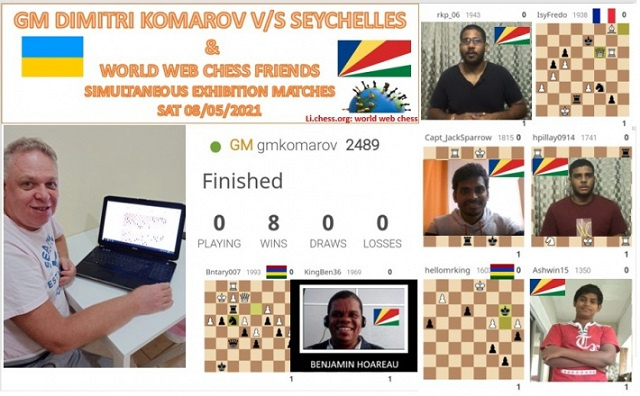 Seychelles' chess champions advance their virtual attack during COVID-19's doldrums