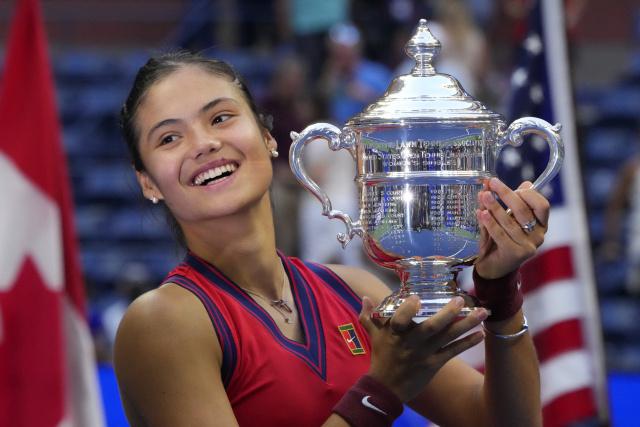 Queen leads congratulations for Raducanu's stunning Slam win