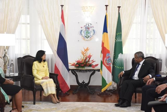 Thailand's new ambassador to Seychelles eyes ways to boost tourism industry