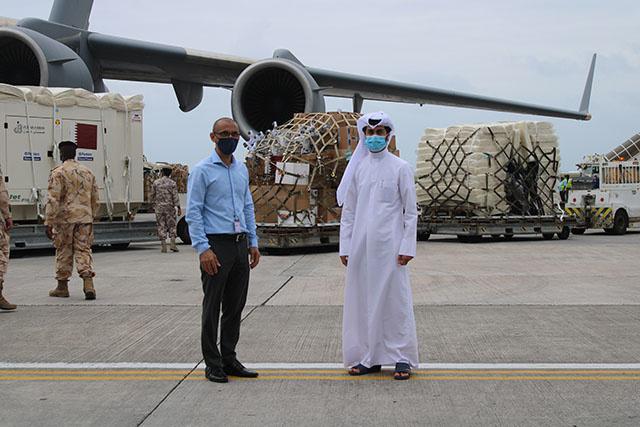 Un hôpital préfabriqué de 60 lits offert par le Qatar aux Seychelles