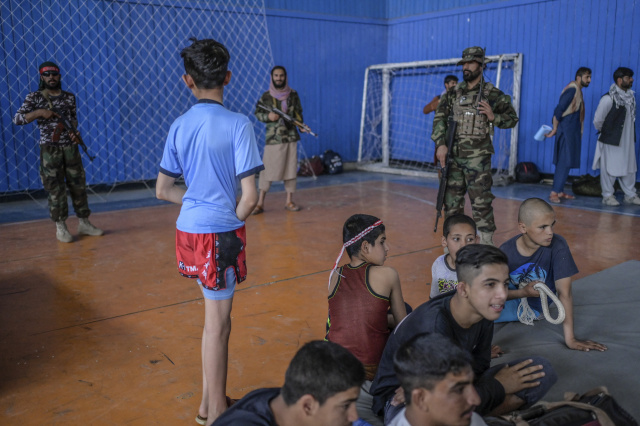Hundreds of sports allowed, Taliban promise -- if you're a man