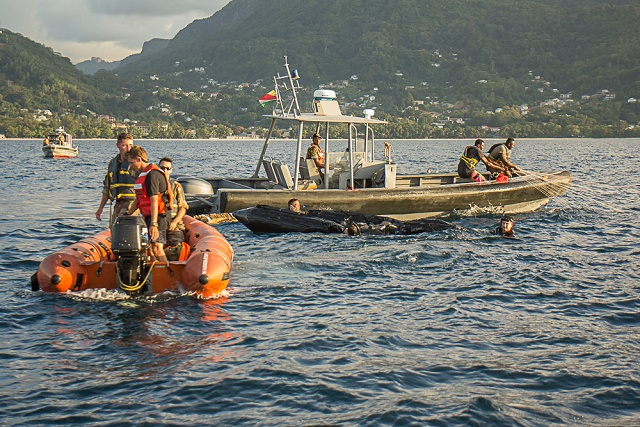 Seychelles, France carry out anti-narcotics military exercise