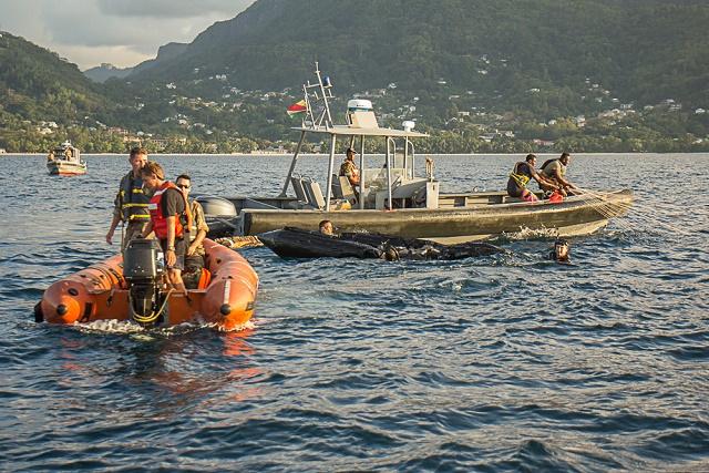 Les Seychelles et la France mènent un exercice militaire anti-drogue