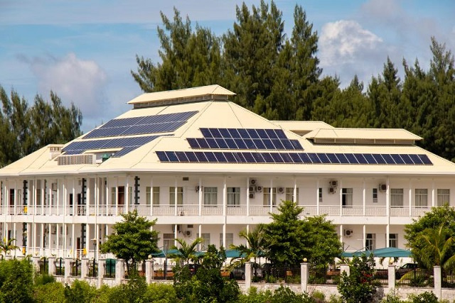 Seychelles' environment ministry implements recycling, efficient energy practices