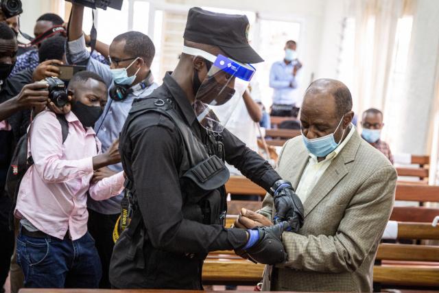 'Hotel Rwanda' hero convicted on terror charges