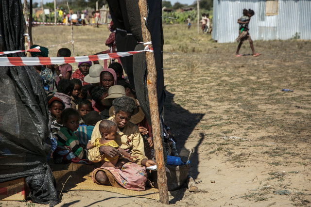 Desolate villages face famine in Madagascar drought