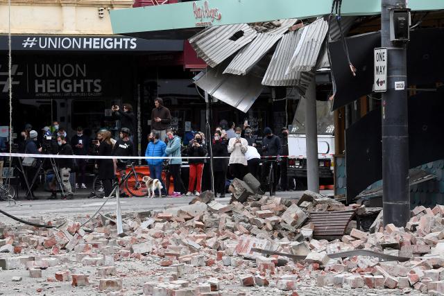 Rare Australia earthquake triggers panic in Melbourne